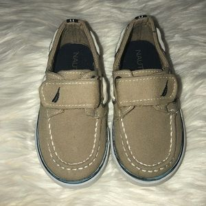 Boys Nautica boat shoes